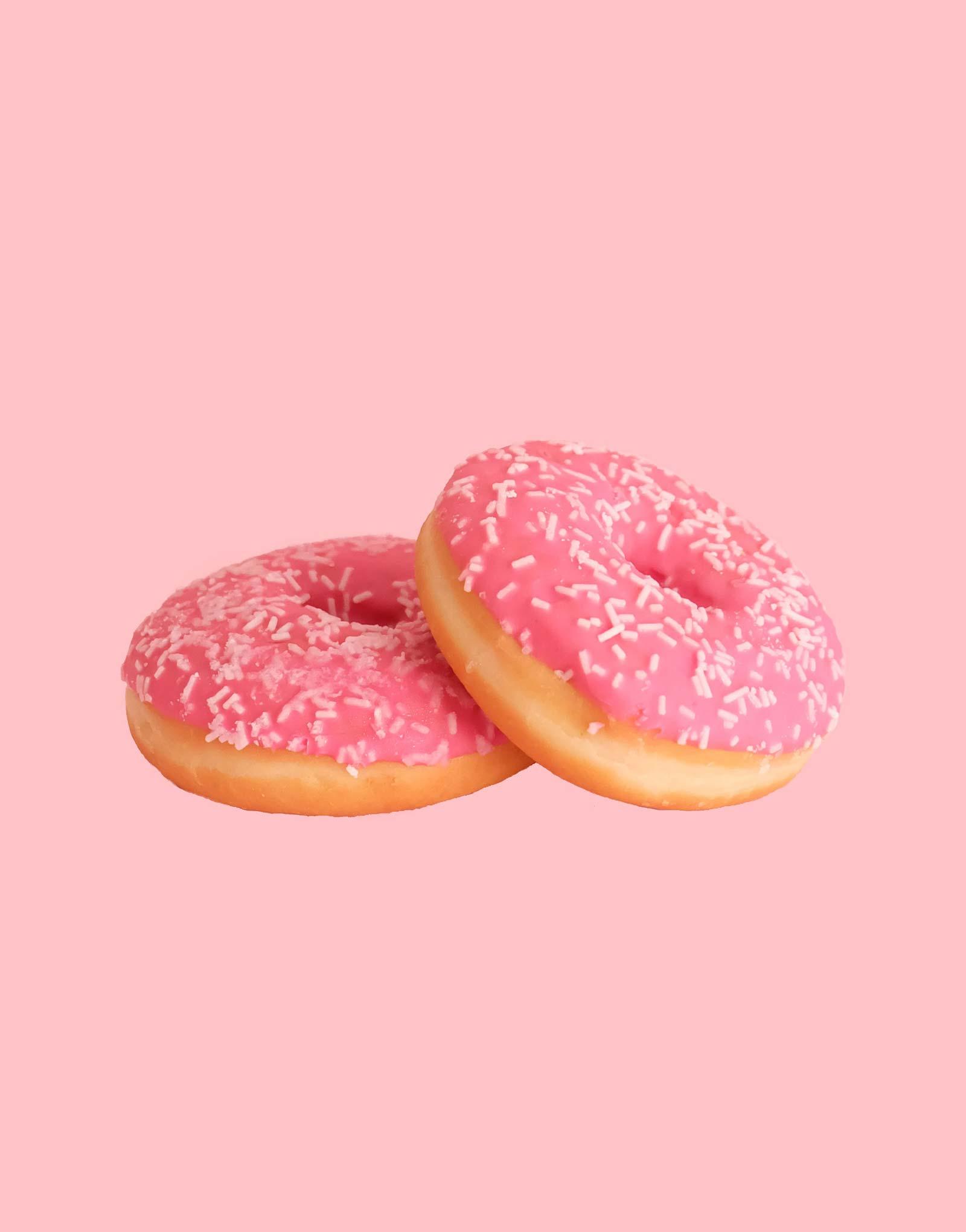 strawberry-donut